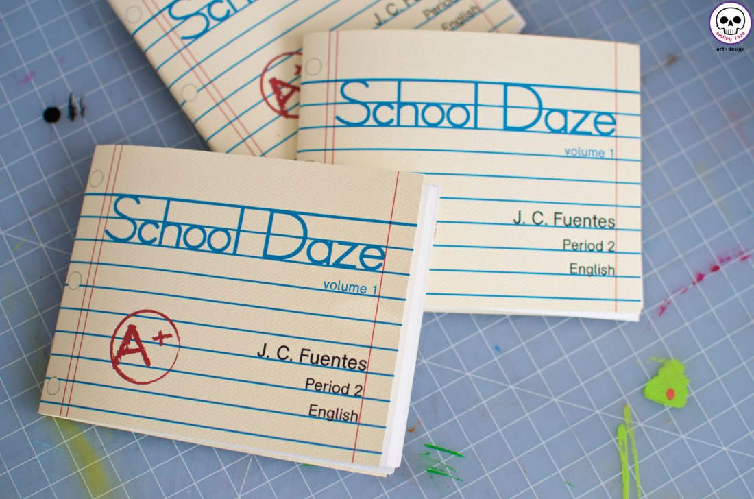 School Daze: Volume 1 is available for purchase at http://mkt.com/smiley-faze/school-daze.